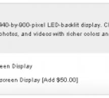 آبل تضيف خيار تغيير شاشة الماك بوك برو ١٥ إلى شاشة مطفية مضادة للتوهج
