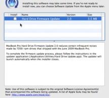 تحديث مهم لفيرموير أجهزة الماك بوك برو