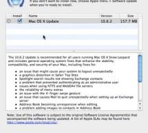 تحديث ماك 10.6.2 سنو ليوبارد