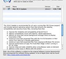 تحديث ماك 10.6.3 و تحديث أمني لليوبارد 2010-002