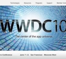 ستيف جوبز سيفتتح مؤتمر المطورين WWDC 2010 في يوم ٧ يونيو