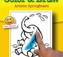 تطبيق تلوين و رسم للأطفال على الآي باد