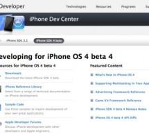 أبل تصدر بيتا ٤ من نظام تشغيل آيفون ٤ و حزمة تطوير البرامج