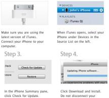 إصدار iOS 4 للآيفون و الآيبود توتش من أبل
