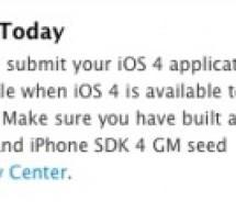أبل تبدأ باستقبال تطبيقات iOS 4 اليوم