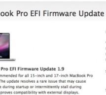 تحديث فيرموير أجهزة ماك بوك برو