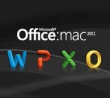 الحزمة الأولى لمايكروسوفت أوفيس 2011 للماك: لا وجود للعربية