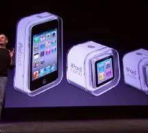 فيديو مؤتمر أبل لأجهزة الآي بود الجديدة