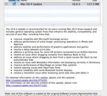 أبل تصدر تحديث ماك 10.6.5 [مع روابط التنزيل]