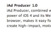 iAd Producer من أبل لتصميم الإعلانات بإستخدام HTML و CSS