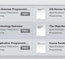 كتب برمجة iOS مجانية على iBooks من أبل