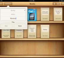 iBooks Collections: طريقة تنظيم الكتب