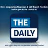حدث لأبل و نيوز كوربوريشن لإطلاق The Daily على آي باد