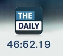 بث حدث الإعلان عن The Daily و لكن الموقع محجوب في السعودية