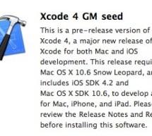 أبل تصدر النسخة الذهبية من Xcode 4 للمطورين
