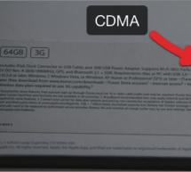 تحذير و تنبيه بخصوص iPad 2 3G مع شبكة فيريزون