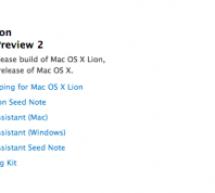 أبل تصدر Mac OS X Lion النسخة الثانية للمطورين