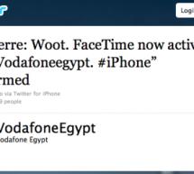 فودافون مصر تُعيد فيس تايم على آيفون 4 [مُحدث]
