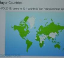 متجر أندرويد في 131 دولة بإستثناء السعودية و الإمارات و مصر