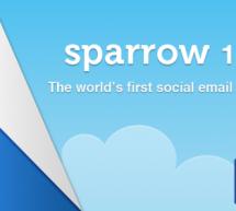 Sparrow 1.2 للإيميل على الماك مع صندوق وارد موحد