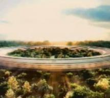 أبل تريد بناء حرم للشركة على شكل سفينة فضائية في كوبرتينو