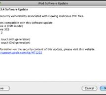 أبل تطرح تحديث iOS 4.3.4 لإصلاح ثغرة أمنية
