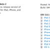 أبل تصدر iOS 5.0.1 بيتا 2 للمطورين