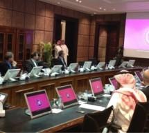 الإتصالات السعودية تجتمع مع تنفيذيين من شركة أبل
