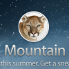 أبل تكشف عن نظام Mountain Lion للماك