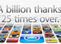 تنزيل 40 مليار تطبيق من آب ستور و دفع 7 مليار دولار للمطورين