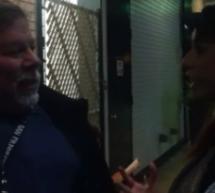 فيديو: ستيف وزنياك (من مؤسسي أبل) في صف إنتظار آي باد 3