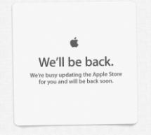متجر ابل الالكتروني مغلق للتحديثات – انتهى التحديث