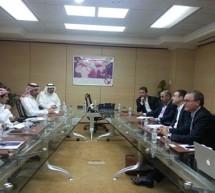 مسؤولو شركات الإتصالات السعودية يلتقون نظراءهم في أبل