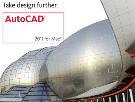 AutoCad 2011 for  MacOSX.