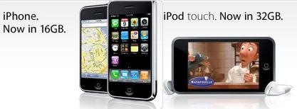 New iPod touch/iPhone