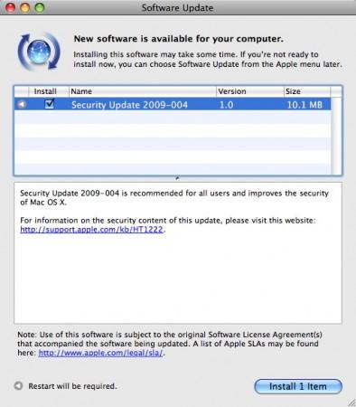 security-update-2009-004