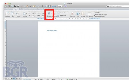 Microsoft Office for Mac 2011 and Arabic: Word, PowerPoint