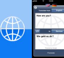 برنامج iTranslate للترجمة على الآيفون