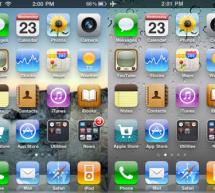 مقارنة شاشة آيفون ٤ مع آيفون ثري جي إس