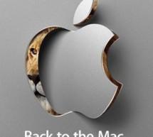 مؤتمر Back to the Mac لشركة أبل يوم ٢٠ أكتوبر