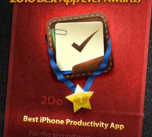 2Do يفوز بجائزة أفضل برنامج إنتاجية للعام الثاني على التوالي