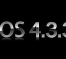 جيلبريك غير مقيد للفيرموير iOS 4.3.3