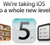 iOS 5 الآن متوفر للجميع