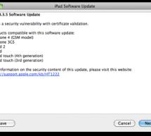 أبل تطرح تحديث iOS 4.3.5 للآيفون و الآيباد و الآيبود توتش