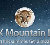 أبل تكشف عن نظام Mountain Lion للماك