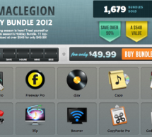 حزمة MacLegion لتطبيقات ماك مخفضة $548 -> $49.99