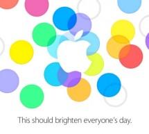 أبل تُعلن عن مؤتمر صحفي يوم 10 سبتمبر (iPhone 5S iPhone 5C iOS 7)