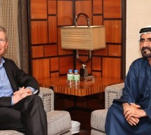 تيم كوك يزور الإمارات العربية المتحدة
